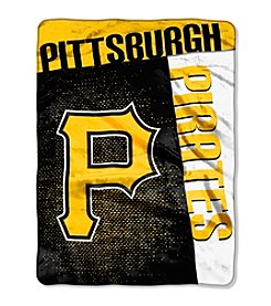 MLB® Pittsburgh Pirates Strike Raschel Throw