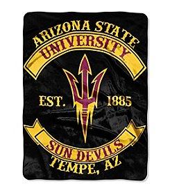 Arizona State University Rebel Raschel Throw