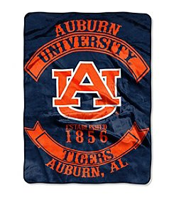 Auburn University Rebel Raschel Throw