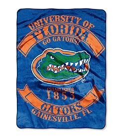 University of Florida Rebel Raschel Throw