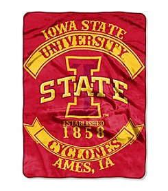 Iowa State University Rebel Raschel Throw