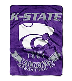 Kansas State University Rebel Raschel Throw