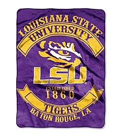 Louisiana State University Rebel Raschel Throw