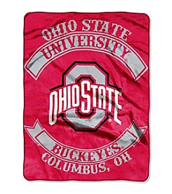 Ohio State University Rebel Raschel Throw