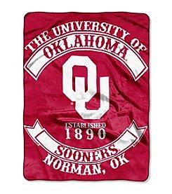 NCAA® University of Oklahoma Rebel Raschel Throw