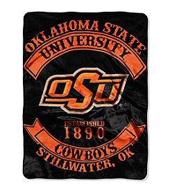 NCAA® Oklahoma State University Rebel Raschel Throw