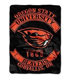 Oregon State University Rebel Raschel Throw