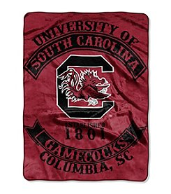 Northwest Company NCAA® South Carolina Gamecocks Rebel Raschel Throw