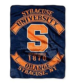 Syracuse University Rebel Raschel Throw