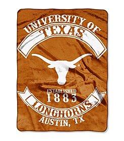 University of Texas Rebel Raschel Throw