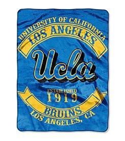 UCLA Rebel Raschel Throw