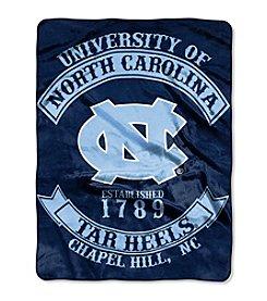 University of North Carolina Rebel Raschel Throw