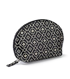 Relativity® Black/Cream Lattice Dome Pouch