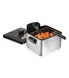 Hamilton Beach® Professional-Style 3 Basket Deep Fryer