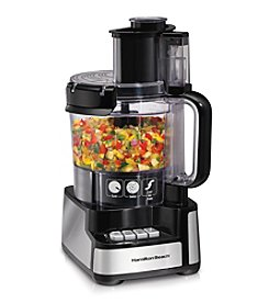Hamilton Beach® 12-Cup Big Mouth Stack & Snap Food Processor