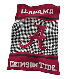 University of Alabama Logo Chair Houndstooth UltraSoft Blanket