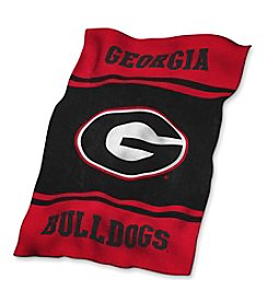 University of Georgia Logo Chair UltraSoft Blanket