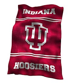 NCAA® Indiana University Rebel UltraSoft Blanket