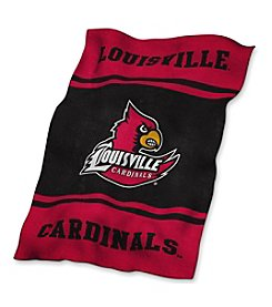 University of Louisville Logo Chair UltraSoft Blanket