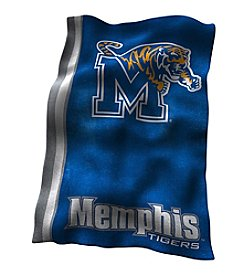 University of Memphis Logo Chair UltraSoft Blanket