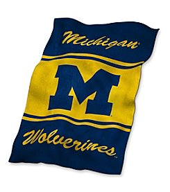 University of Michigan Logo Chair UltraSoft Blanket