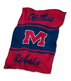 University of Mississippi Logo Chair UltraSoft Blanket