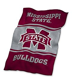 Mississippi State University Logo Chair UltraSoft Blanket