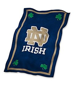 University of Notre Dame Logo Chair UltraSoft Blanket