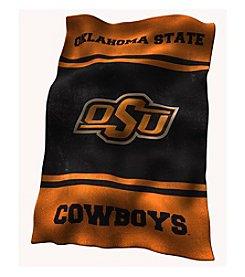 Oklahoma State University Logo Chair UltraSoft Blanket