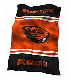 Oregon State University Logo Chair UltraSoft Blanket