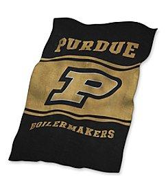 Purdue University Logo Chair UltraSoft Blanket