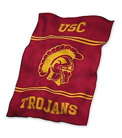 University of Southern California Logo Chair UltraSoft Blanket