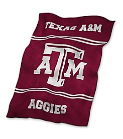Texas A&M University Logo Chair UltraSoft Blanket