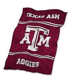 Texas A&M University Logo Chair UltraSoft Blanket