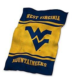West Virginia University Logo Chair UltraSoft Blanket