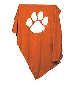 Clemson University Logo Chair Sweatshirt Blanket