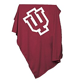 Indiana University Logo Chair Sweatshirt Blanket