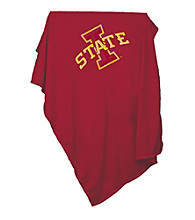 Iowa State University Logo Chair Sweatshirt Blanket