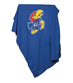 NCAA® University of Kansas Sweatshirt Blanket
