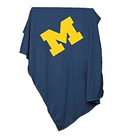 University of Michigan Logo Chair Sweatshirt Blanket