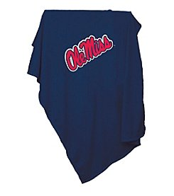 University of Mississippi Logo Chair Sweatshirt Blanket