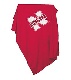 University of Nebraska Logo Chair Sweatshirt Blanket
