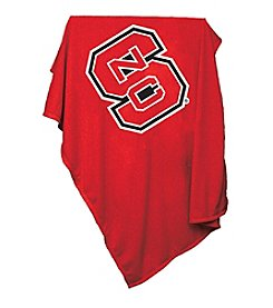 North Carolina State University Logo Chair Sweatshirt Blanket