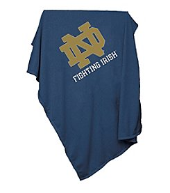 University of Notre Dame Logo Chair Sweatshirt Blanket
