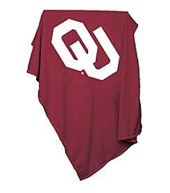 NCAA University of Oklahoma Sweatshirt Blanket