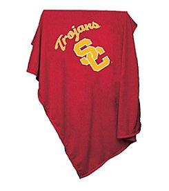 University of Southern California Logo Chair Sweatshirt Blanket
