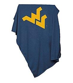 West Virginia University Logo Chair Sweatshirt Blanket