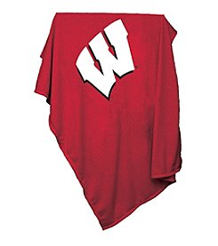 University of Wisconsin Logo Chair Sweatshirt Blanket