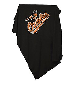 Baltimore Orioles Logo Chair Sweatshirt Blanket