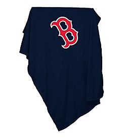 Boston Red Sox Logo Chair Sweatshirt Blanket